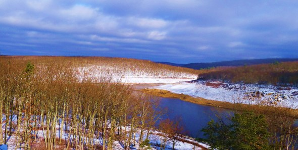 Winter at the Dam