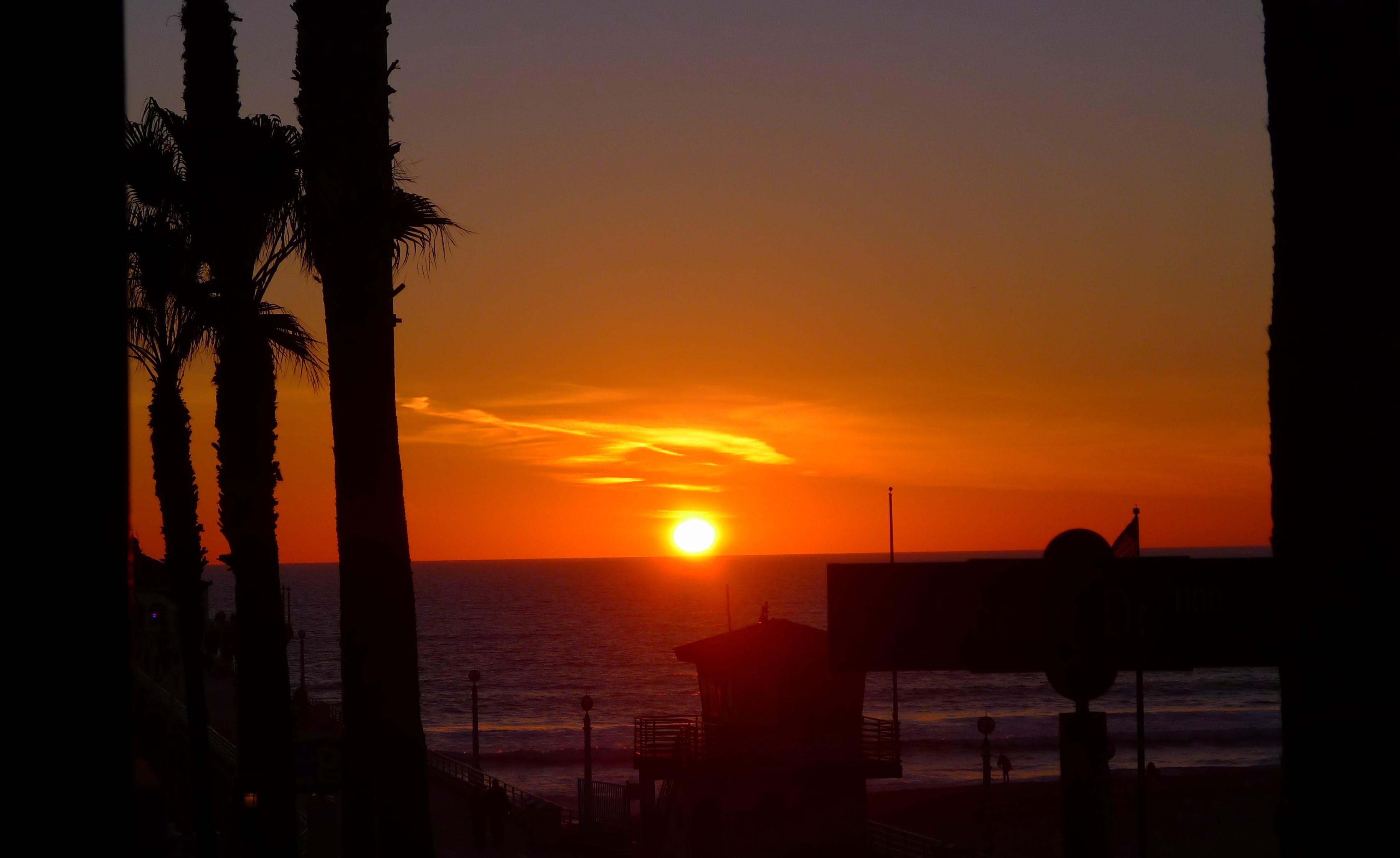 Sunset on Manhattan Beach