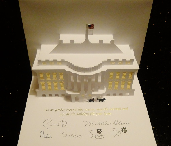 Christmas Card from the Obamas