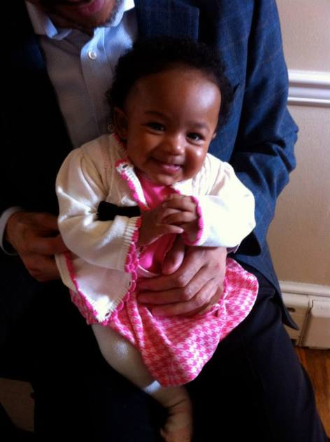My niece, Sage  Who could have empty nest syndrome with this doll baby around?